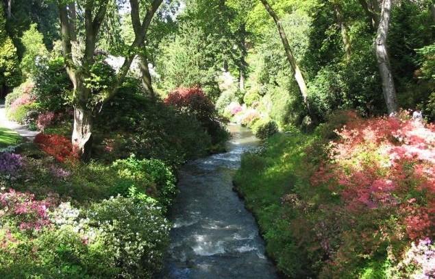Bodnant Gardens, Tal-y-Cafn.
