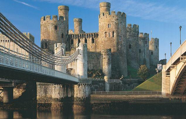 Conwy Castle, Conwy.