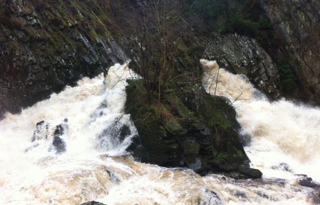 Conwy Falls, Betws-y-Coed.