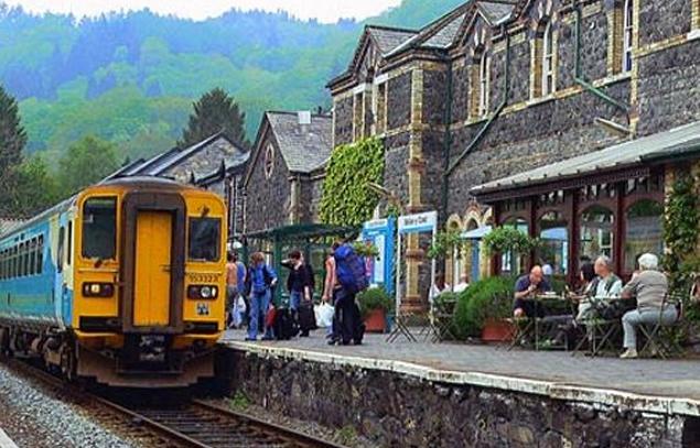 Conwy Valley Railway, Conwy Valley.