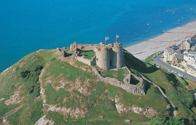 Criccieth Castle, Criccieth.