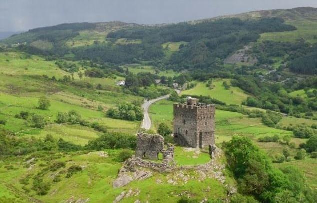 Dolwyddelan Castle, Dolwyddelan.