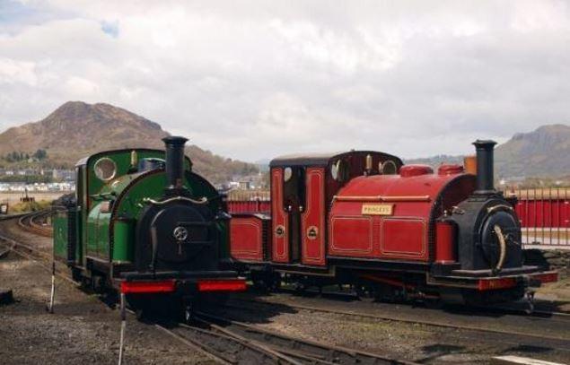 Ffestiniog Railway, Porthmadog.