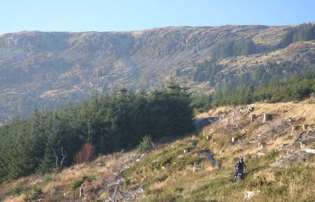 Penmachno MTB Trail, Penmachno.