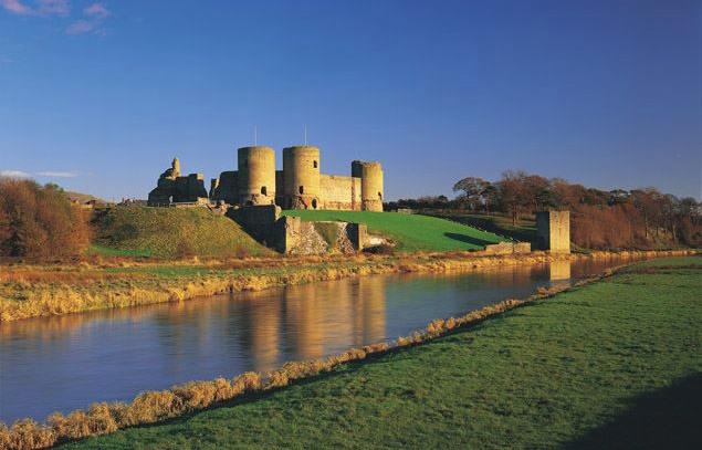 Rhuddlan Castle, Rhuddlan.