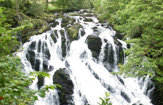 Swallow Falls, Betws-y-Coed.