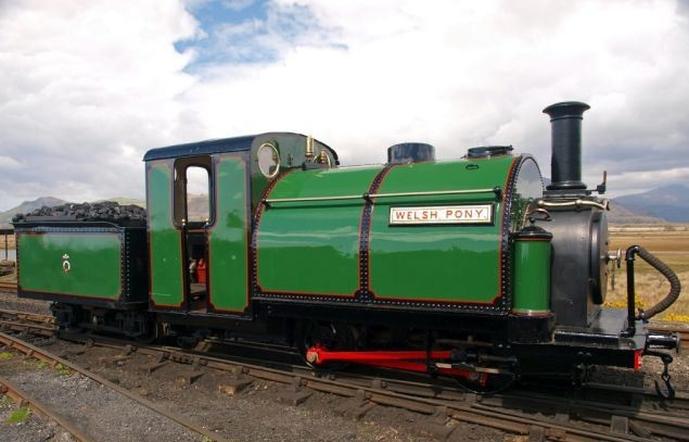 Welsh Highland Railway, Caernarfon.