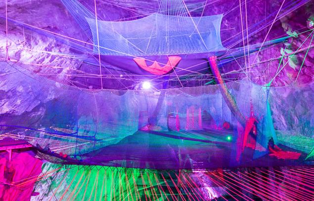 Bounce Below, Blaenau Ffestiniog.
