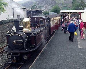 Steam Trains on the Ffestiniog Railway, North Wales