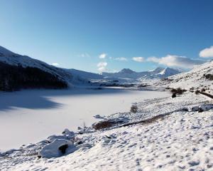 Llanberis Mountain Film Festival  - Snowdon in Winter