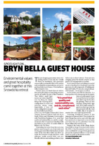 Environmental Values and Great Hospitality Bryn Bella Guest House