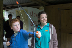 Greenwood Forest Park Long Bow Archery www.bryn-bella.co.uk